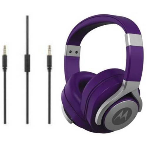 Motorola Pulse Max Purple Headset