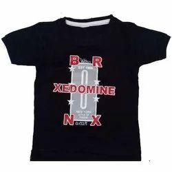 Kids Cotton Casual Wear Printed T Shirt