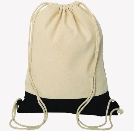 5a73f06c18c2 Natural Sling Cotton Drawstring Bag