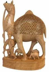 Wooden Camel Family