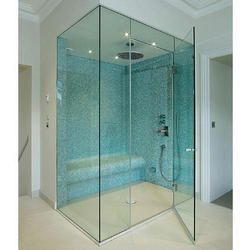 Ozone Hinged Toughened Glass Door, For Office