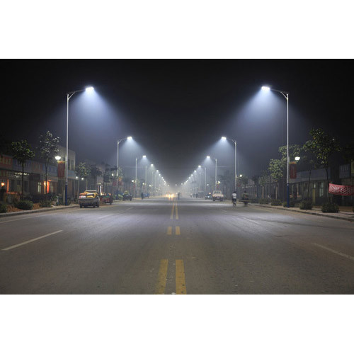led street lighting project services in yogi chowk surat phoenix