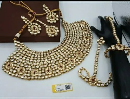 Antique Kundan Bridal Set