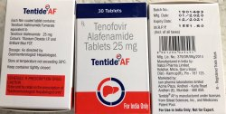 TENTIDE AF TAB (TENOFOVIR ALAFENAMIDE )