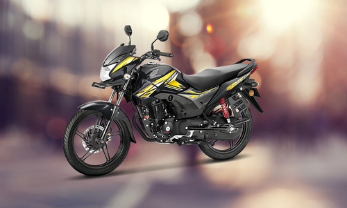 Black Cb Shine Sp Motorcycle Cb125 Shine Sp Disc Rs 67295 Unit