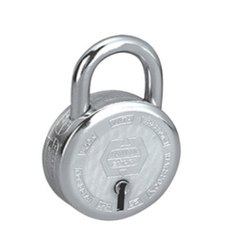 Radhe Krishna Silver Pad Lock, Padlock Size: 50 mm