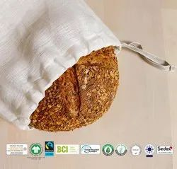 Fair Trade Organic Cotton Bread Bag Export to Finland