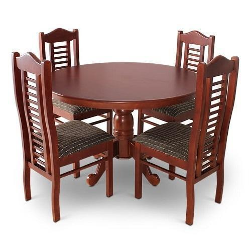 Round Dining Table Set At Rs 22000, Round Dinner Table Set
