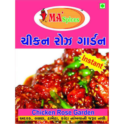 MA Spices Chicken Rose Garden Paste, Packaging Type: Packet