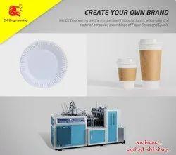 Tea And Coffee Cup Making Machine