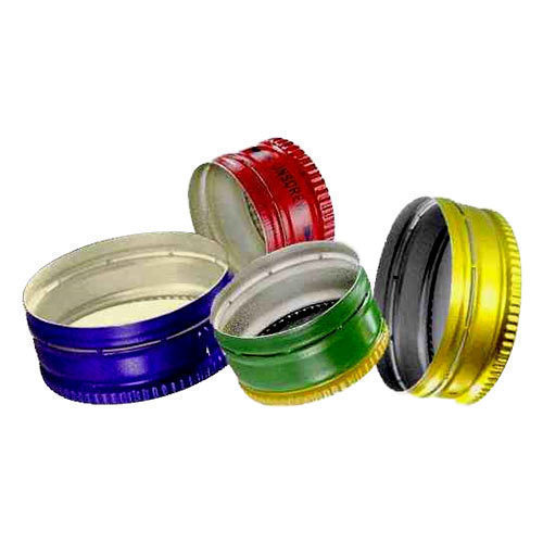 All Colors Are Available Circular Colored Aluminum Bottle Cap