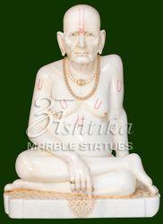 Marble Akkalkot Swami Samarth Statue