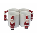 Sublimation Santa  Mugs