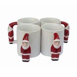 Sublimation Santa  Mugs