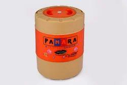 Orange Cream Plastic 18 Ltr. Chilled Water Jug, Size: 18 Ltr Standard