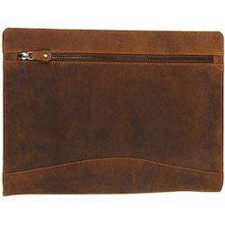 Brown Leather File Folder