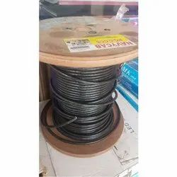 Current Rating: 16 To 24 Amp Color: Black Polycab Power Cable, Packaging Type: Spool, Wire Size: 90 M (length)