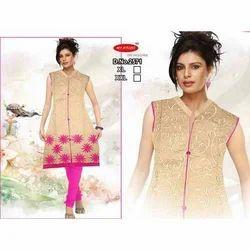 My Ayushi XXL Sleeveless Designer Kurti