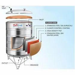 Stainless Steel Storage Tank in Ludhiana