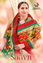 Rachna Art Silk Digital Printed Saavn Catalog Saree For Women 5
