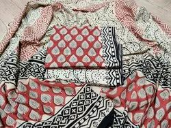 Hand Block Cotton Suit with Dupatta
