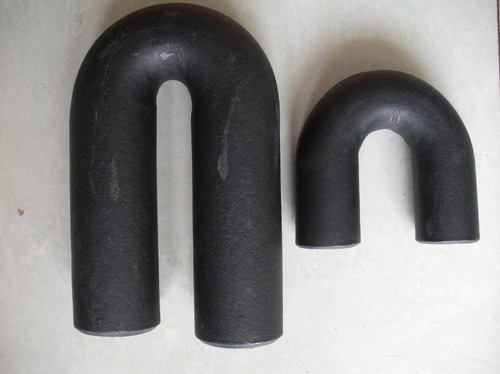 Black Carbon Steel Return Bend Fitting ASTM A234 WPB, for Chemical Fertilizer Pipe, for Plumbing Pipe