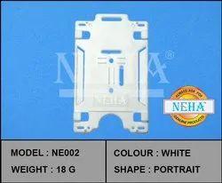 ID Card Holder White
