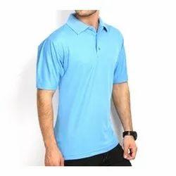 Cotton Plain Men Collar T Shirts, Size: S-XXL