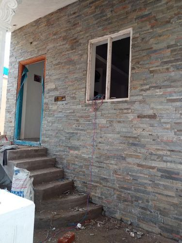 Natural Stone External House Front Elevation Tile