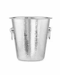 Hammered Ice Wine Bucket NJO-4812