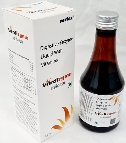 Digestive Enzyme Liquid With Vitamins