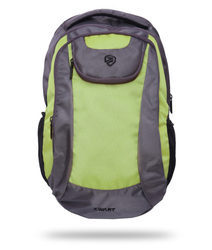 Neon Green Free Size Backpack