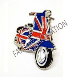 Alloy Metal Badge