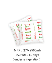 New Amrit Standardized Milk, Packaging Type: Packet