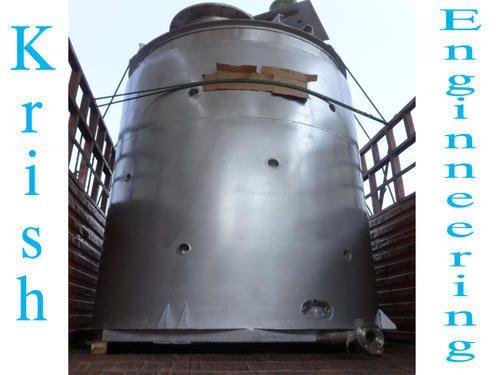Custom Manual Vertical Mixing Tank, 100-150 psi, Warranty: 1 Year
