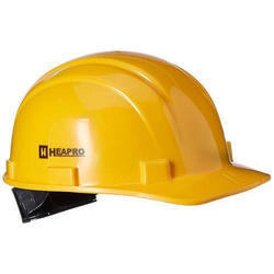Yellow Heapro Safety Helmets, SDR