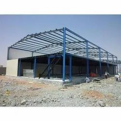 Steel Prefabricated Roofing Shed, For Warehouse,Factory etc