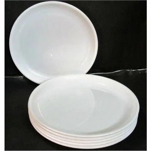 Round Microwave Safe Plastic Quarter