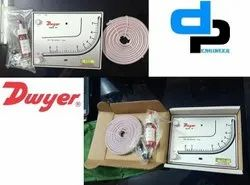 Dwyer Mark I Model 27 Manometer Range 0-7000 FPm