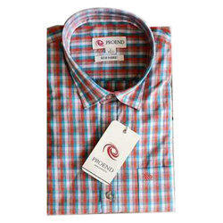 Proend Mens Checked Formal Shirt, Size: S to XXL