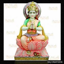 Marble Laxmi Mata Statue