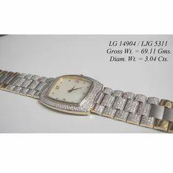 Mens Custom Diamond Watch