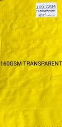 160 GSM Transparent Tarpaulin