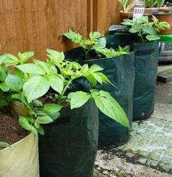 Grow Garden Bag 10 Gallon Planter Bags Large Plant Tub With Handles Flap For Vege