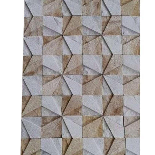 Stone Elevation Wall Tiles, Thickness: 5-12 Mm
