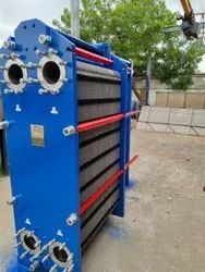 Wide Gap Free Flow Plate Heat Exchanger