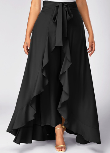 6aded2efb2a0 Slenor Ruffle Palazzo Skirt, Rs 350 /piece, Clothing Root   ID ...