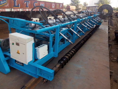 cement concrete road builder paver machine rental service