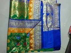 Party Wear Banarasi Silk Sarees, 6.3 m (with blouse piece)