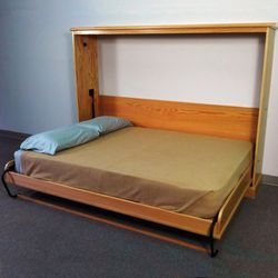 Side Mount Murphy Bed Queen Size